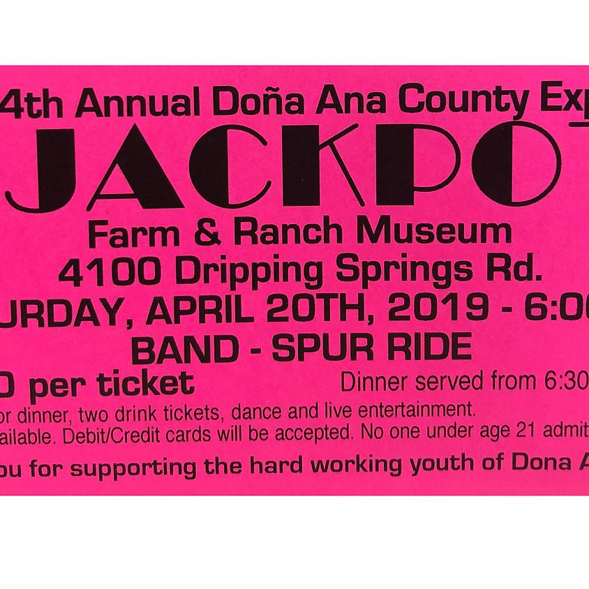 14th Annual Doña Ana County Expo Jackpot Party