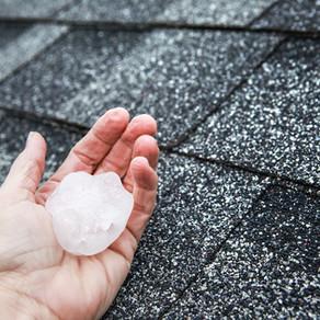 It's Hail Season.