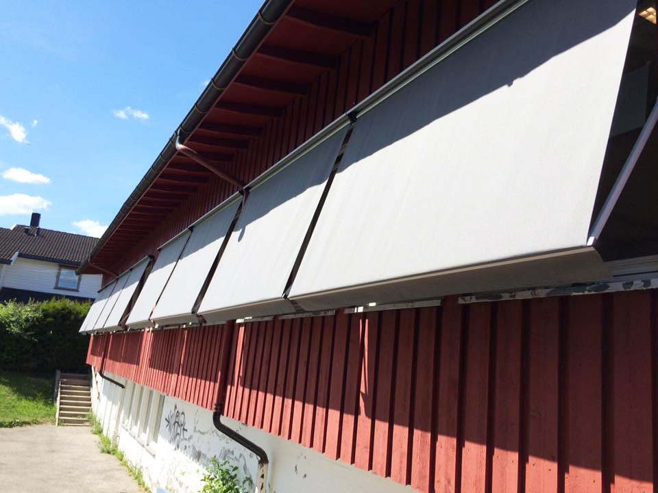Fasademarkiser