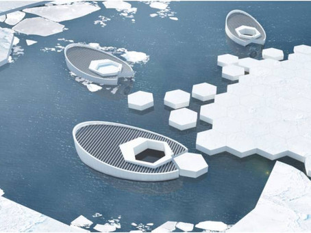 Equipo de diseñadores quiere construir una fabrica de icebergs