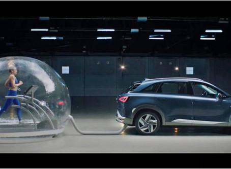 Automóvil que limpia el aire cada vez que avanza.