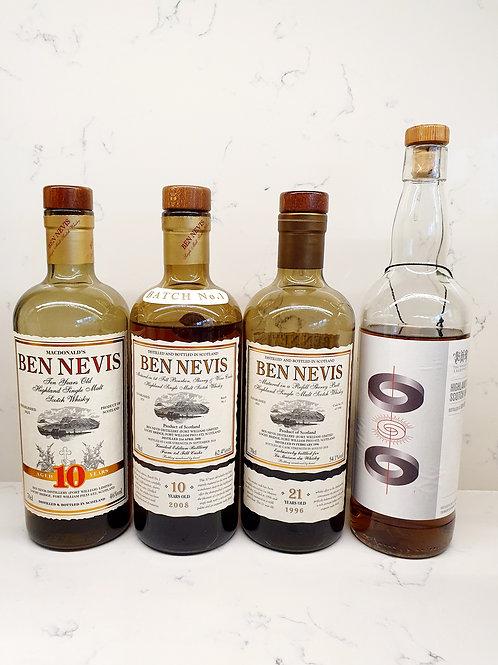 Sample Set: Ben Nevis Appreciation (4 samples)