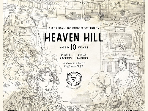Heaven Hill 2009 10 Year Old TMA 2nd Anniversary