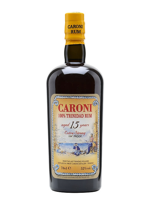 Caroni 15yr Extra Strong 104 Proof