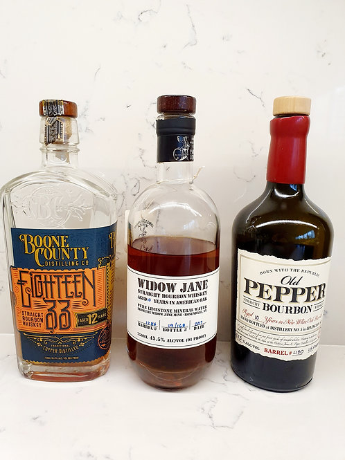 Sample Set: Craft Bourbon (3 samples)