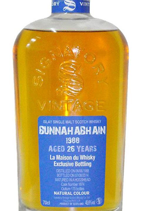 Bunnahabhain 1988 26yr Signatory for LMdW