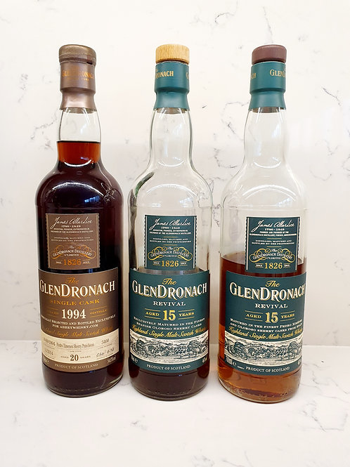 Sample Set: Glendronach Appreciation (3 samples)
