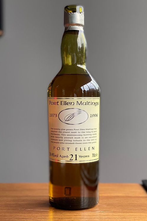 Sample: Port Ellen Maltings 1973 21yr 58.4%