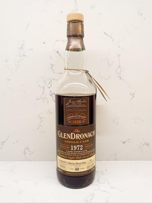 Sample: Glendronach 1972 40yr Cask 713