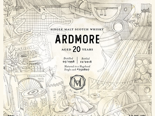 Ardmore 1998 20 Year Old TMA 2nd Anniversary