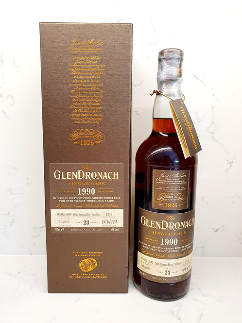 Glendronach 1990 23yr Cask 1243