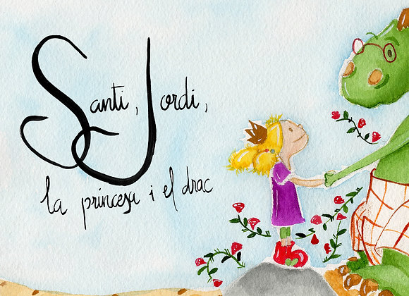 Santi, Jordi, la princesa i el drac