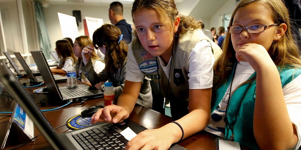 12pm Session:  Building Future Cyber Defenders - WiS-KC & Girl Scouts (Virtual) (3)