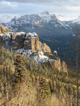 Cimarron Mountains, Colorado