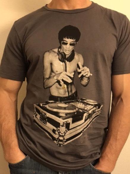 Bruce Lee DJ Avengers Heavy Metal Gray