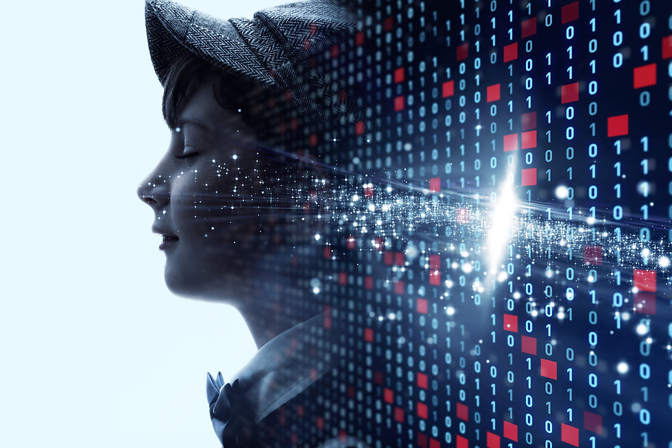 AI (Artificial Intelligence) concept..jp