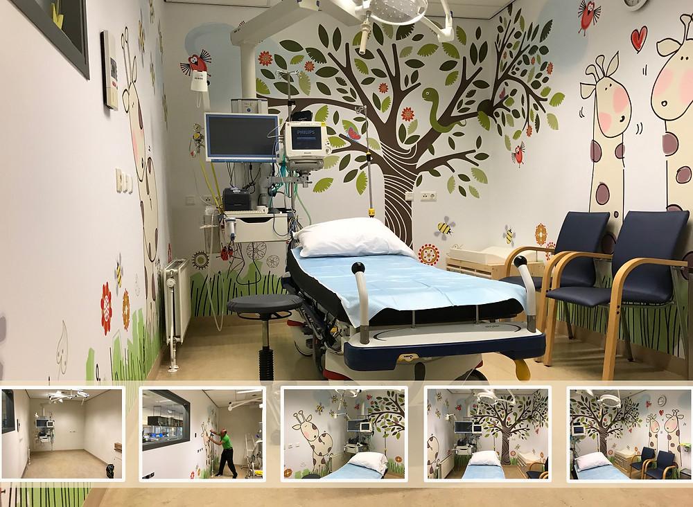 belevingsgerichte omgeving kinderkamers ziekenhuis
