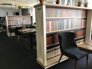 Roomdividers met verwisselbare panelen