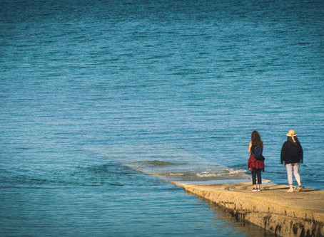 Foto des Tages - The water is wide