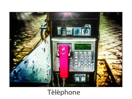 Foto des Tages -Téléphone