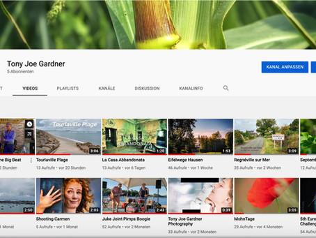 Mein Youtube- Kanal