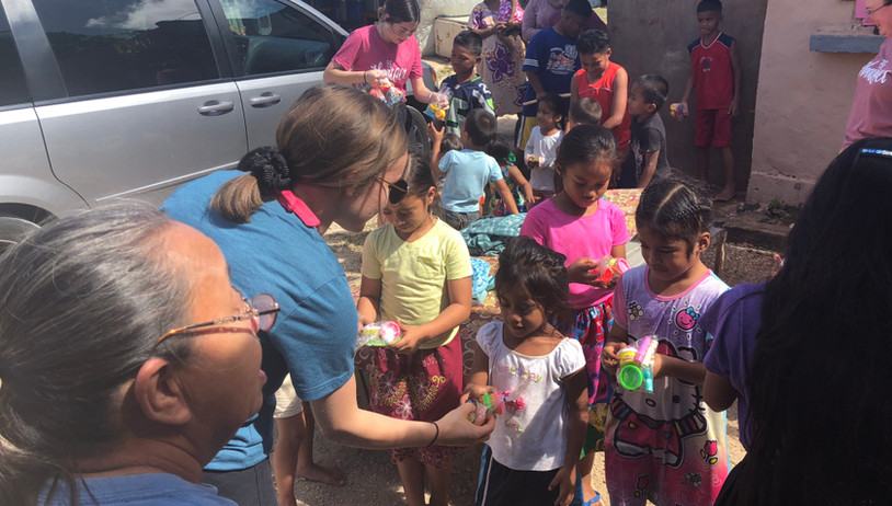 Serving the community in Guam
