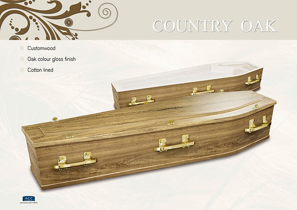 Oak Coffin