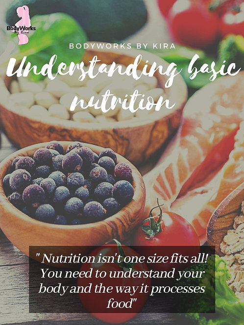 Basic Understanding of Nutrition