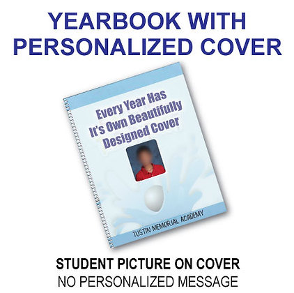 Personalized Yearbook Cover