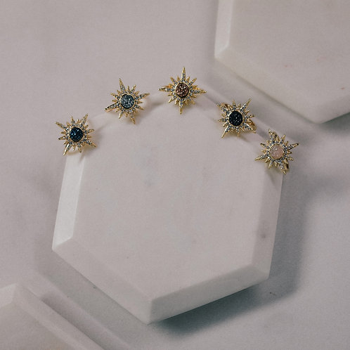 Starburst Druzy Ring