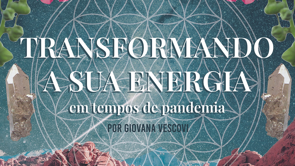 WORKBOOK - Transformando a sua energia