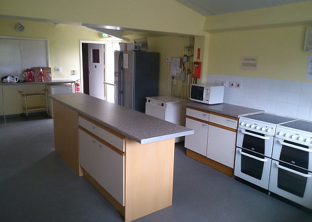 Our large, fully equipped kitchen