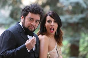 Con l'amico e socio in musica: Enrico Messina