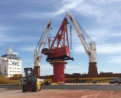 Installation job at Acu Port