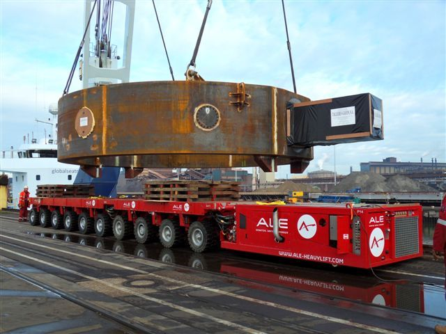 150 tons heavy Steel Castings
