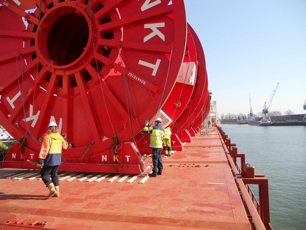 Cable Reels, Diamet 9,60 meters