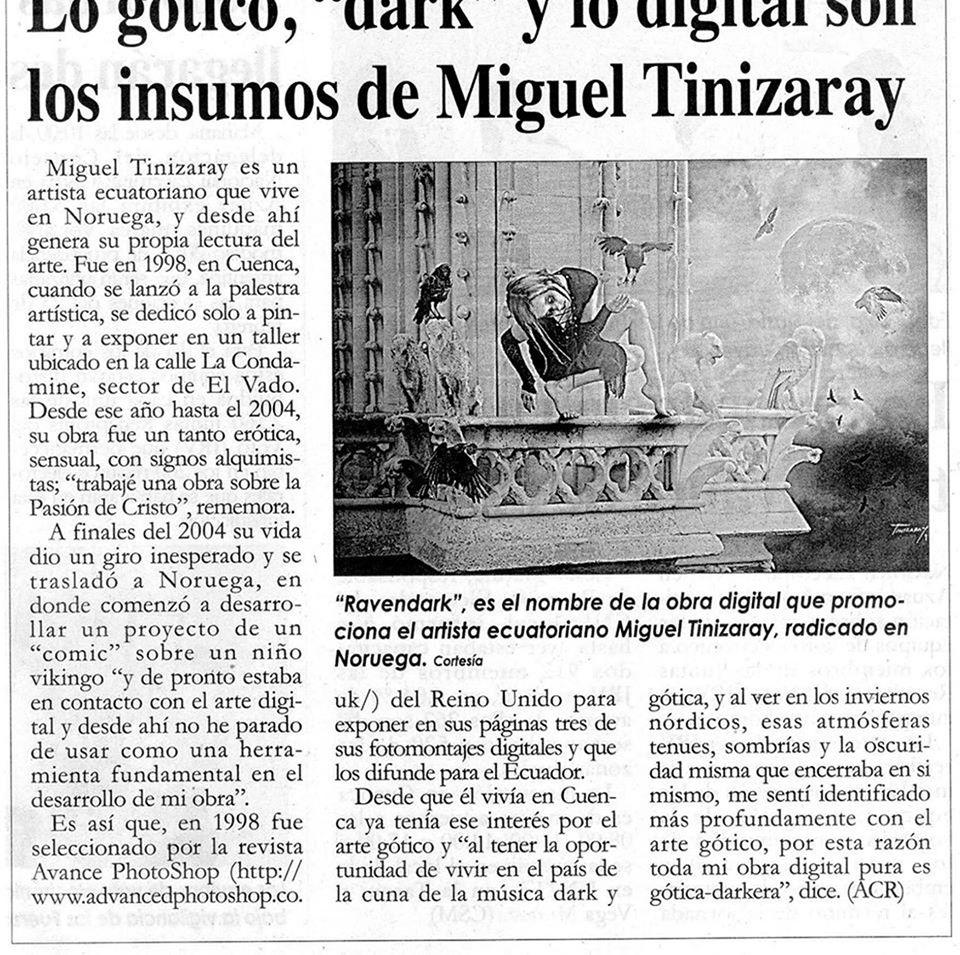 """Diario """"El Mercurio"""" - Ecuador"""