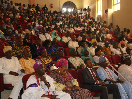 Inaugural Address for New President of Nigerian University