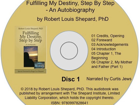 Fulfilling My Destiny, Step By Step in New Audiobook Format