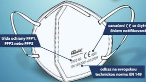 Mám správný respirátor? S výběrem spotřebitelům pomůže nový leták ÚNMZ