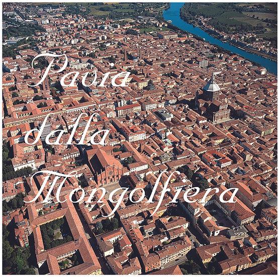 Pavia dalla mongolfiera
