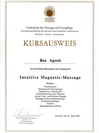 Intuitive Magneticmassage