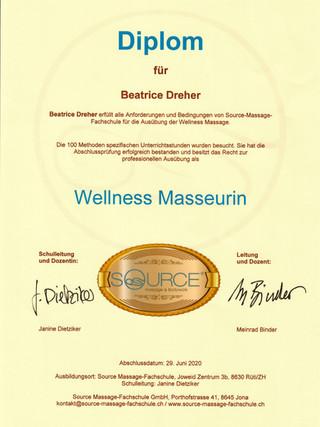 Wellness Masseurin