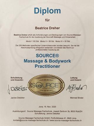 Massage und Bodywork Practitioner