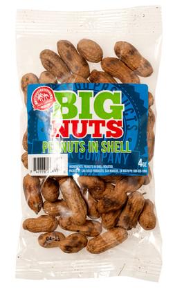 big nuts peanut in shell