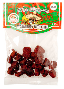 olcks dried strawberry with chile