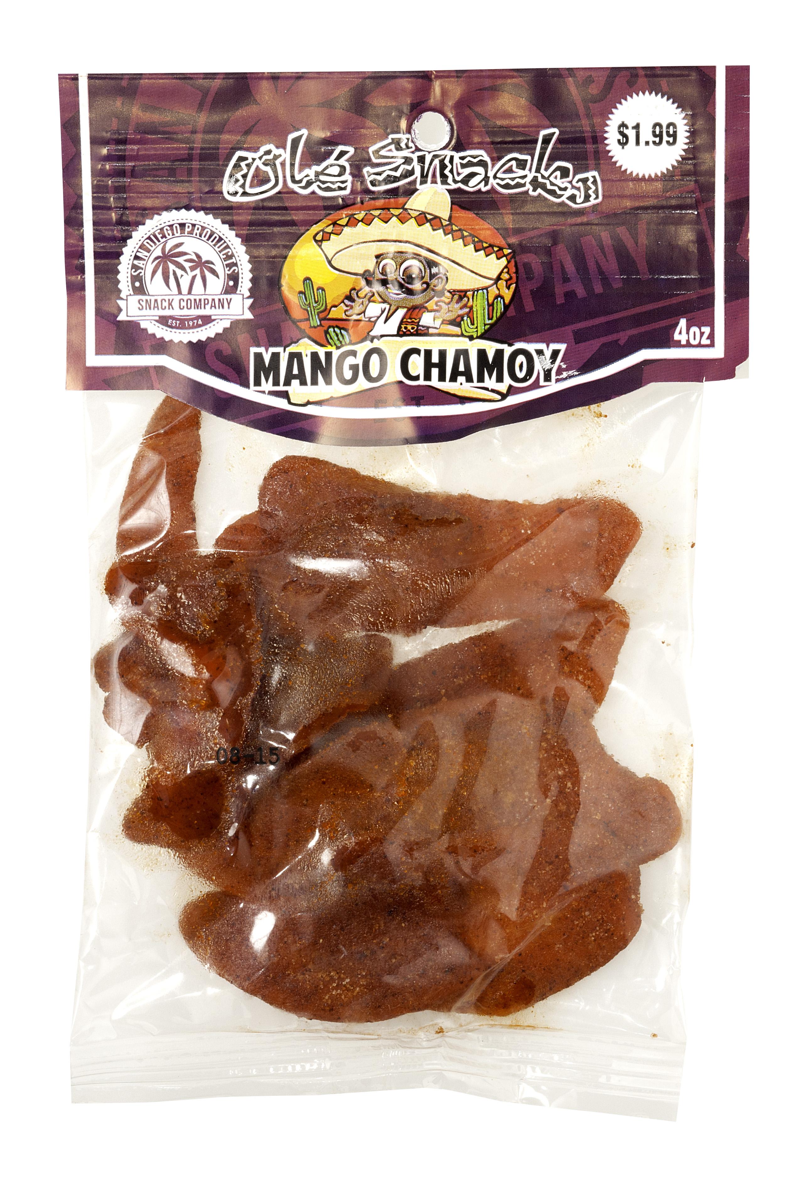ole snacks mango chamoy