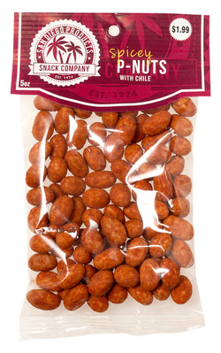 sdp snack company spicey p-nuts with chile