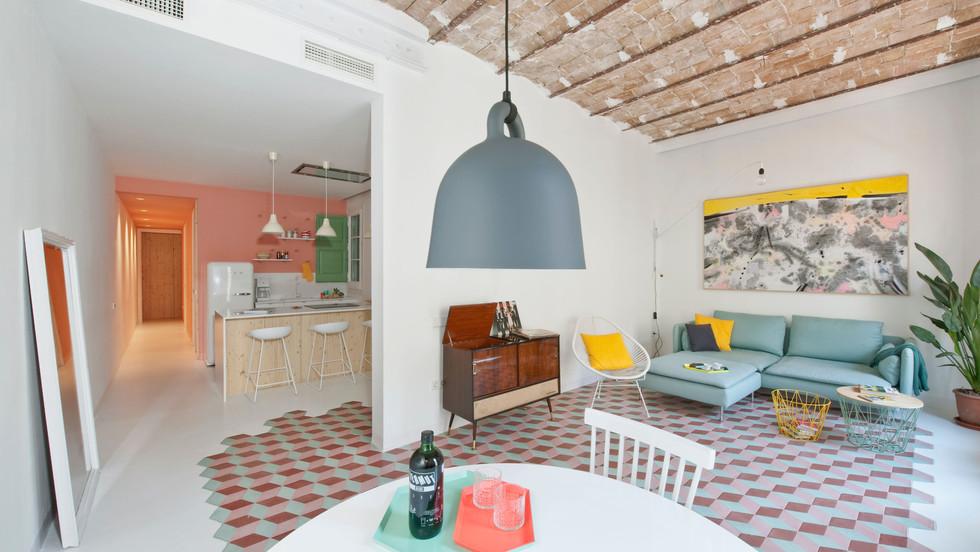 Tyche Apartment, Barcelona, Spain.