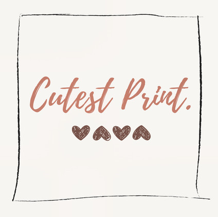 Cutest Print